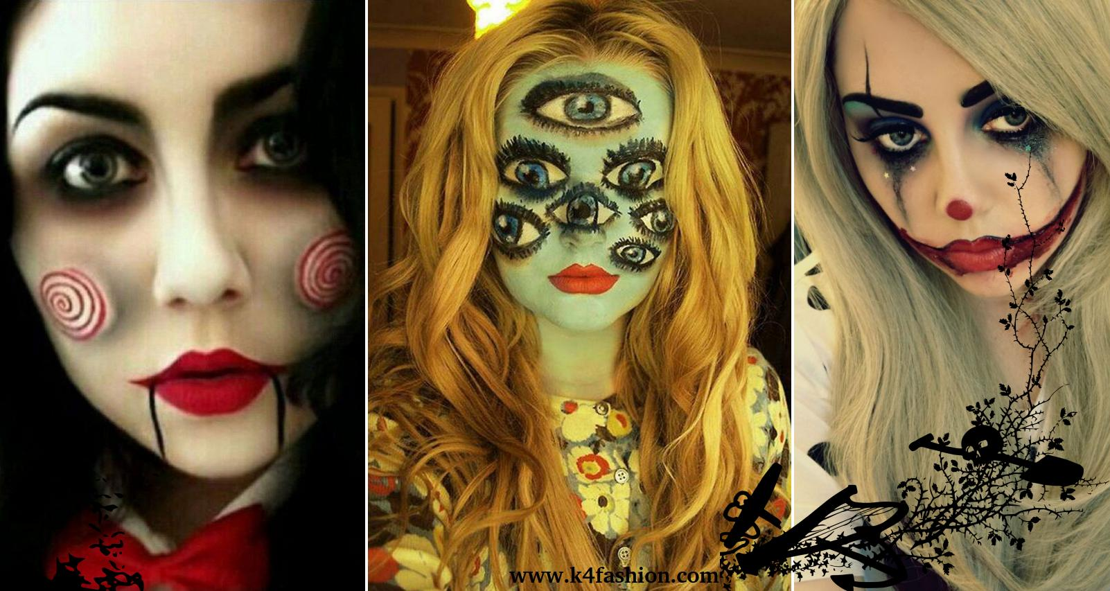 25 Pretty and Scary Halloween Makeup Ideas to Try This Year - K4 Fashion
