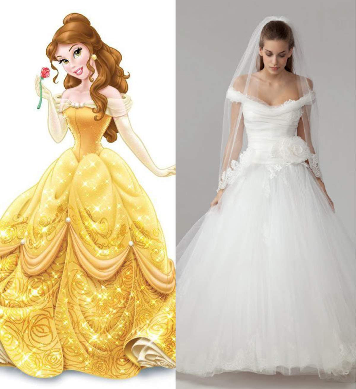 Princes glamour in off-the-shoulder gown