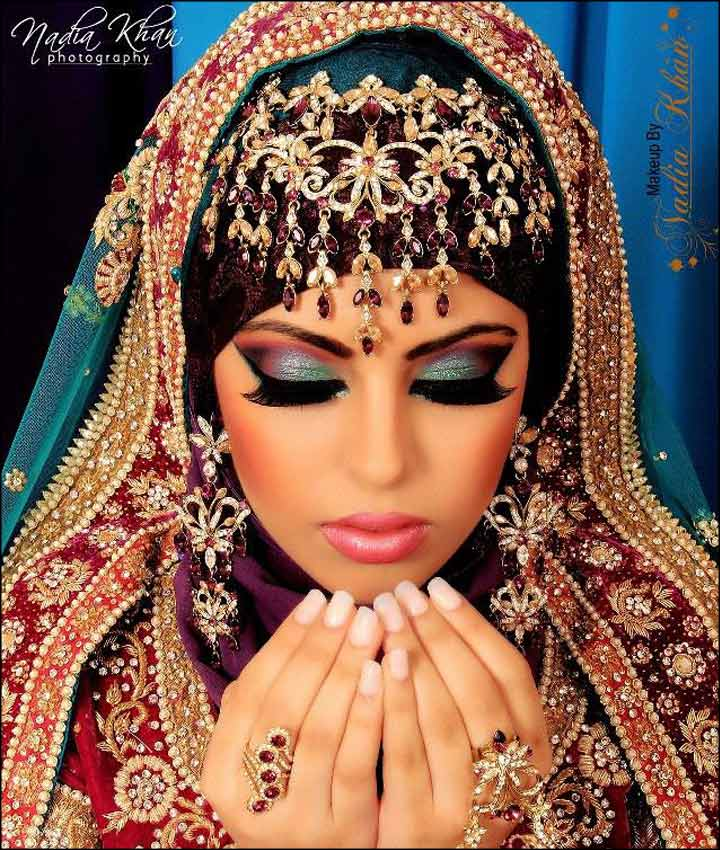 Erfly Bridal Eye Makeup With Multi