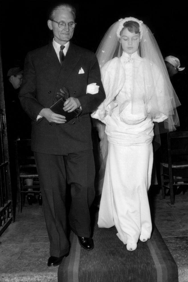 Brigitte Bardot - wedding number 1 Most Iconic Wedding Dresses in Fashion History