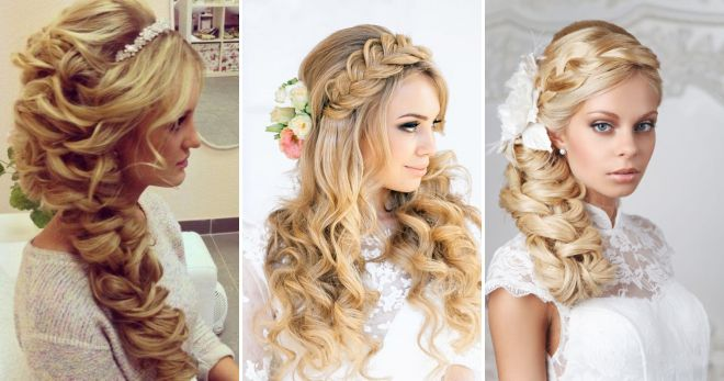 Wedding hairstyles with long hair weaving