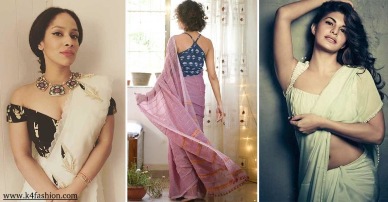 24 Saree Blouse Designs for Wedding & Party