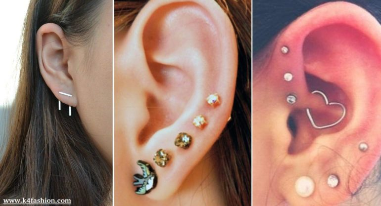 31 Cute Adventurous Ear Piercings Ideas K4 Fashion