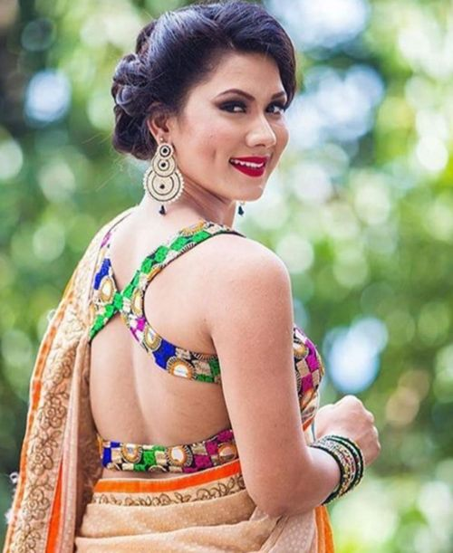 Harness blouse design: Latest Saree Blouse Designs collection for 2020