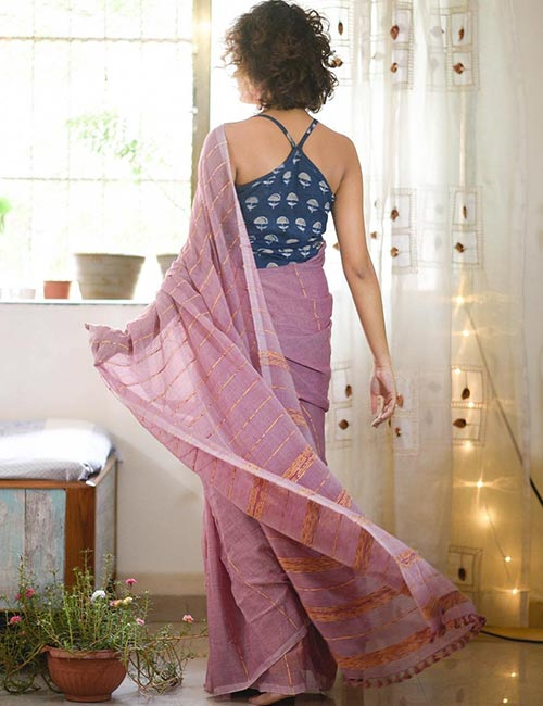 Racerback blouse design: Amazing and Latest Saree Blouse Designs for Wedding & Party