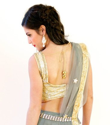 Square back blouse design: Latest Saree Blouse Designs collection for 2020