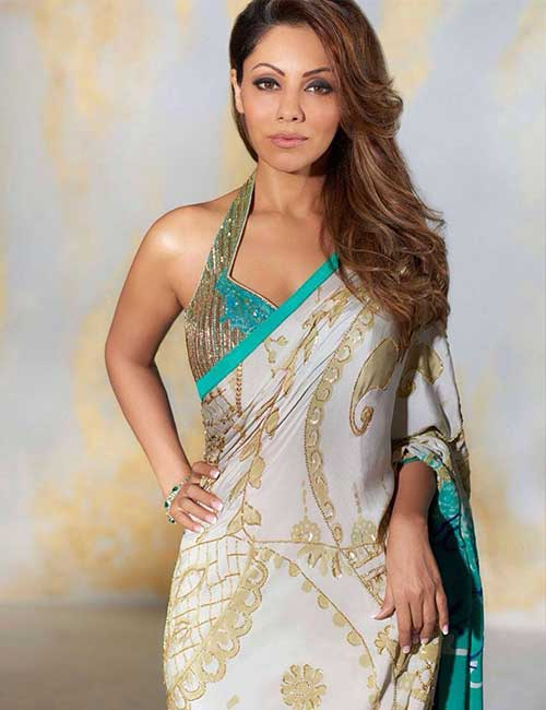 Halter neck blouse design: Amazing and Latest Saree Blouse Designs for Wedding & Party