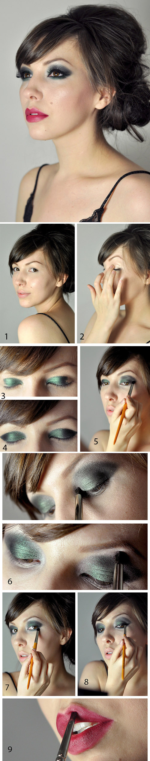. Glamorous make-up Makeup Tutorial for Glamorous and Dramatic Holiday Looks