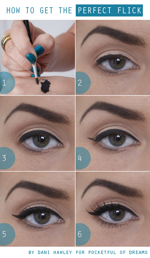 How to get perfect  eyeliner. Makeup Tutorial for Glamorous and Dramatic Holiday Looks