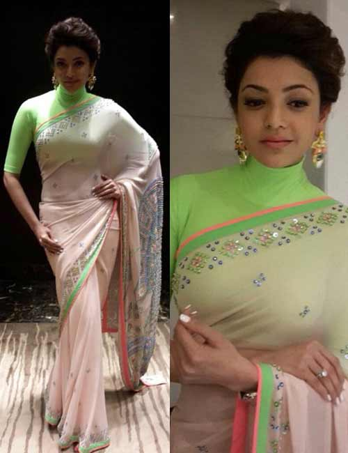 Neon blouse design: Amazing and Latest Saree Blouse Designs for Wedding & Party