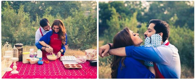 The Gourmet Couple Fabulous Pre-Wedding Shoot Ideas for Every Kind Of Couple!