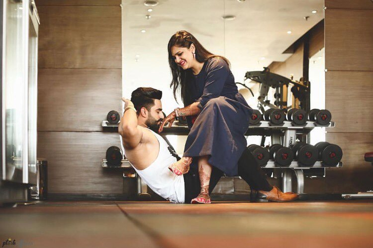 Love Fitness? Fabulous Pre-Wedding Shoot Ideas for Every Kind Of Couple!