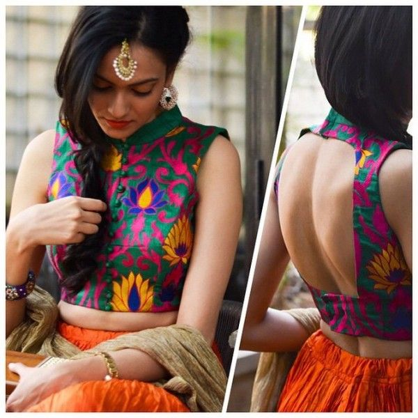 Sleeveless blouse design: Latest Saree Blouse Designs collection for 2020