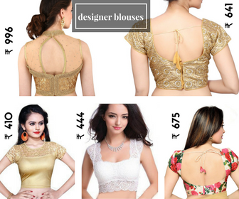 Various blouse designs: Latest Saree Blouse Designs collection for 2020