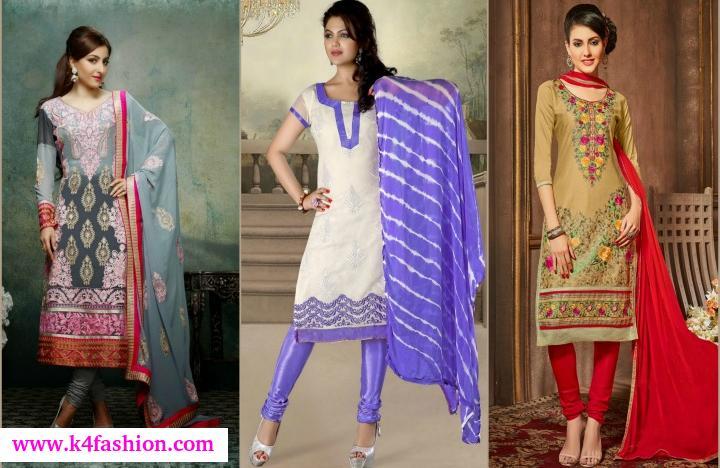 Trending Cotton Churidar Suit Trending Cotton Churidar Suit