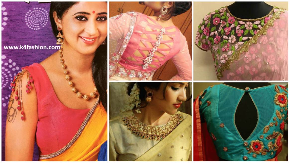 Trendy & Stylish Saree Blouse designs Women should have