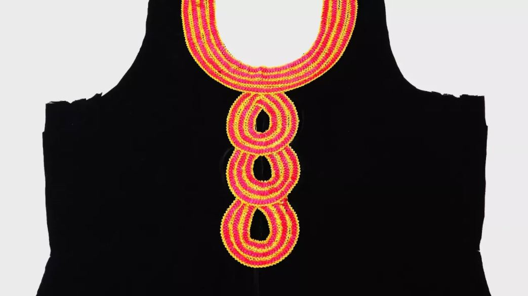 Kurti Neck Design using Lace How to Decorate Kurti Front Neck