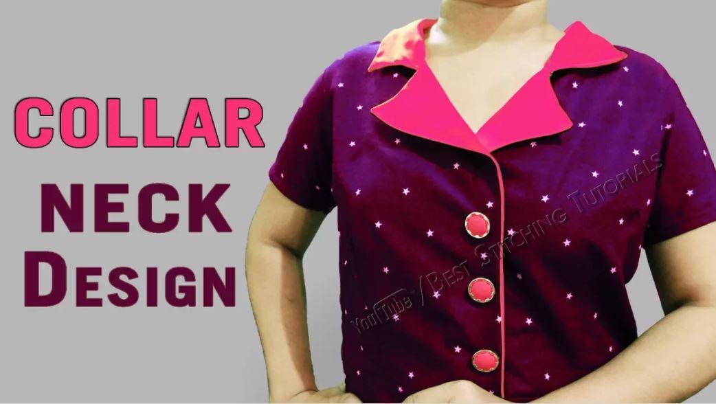 Latest Beautiful Kurti Design Cutting and Stitching - Tutorial
