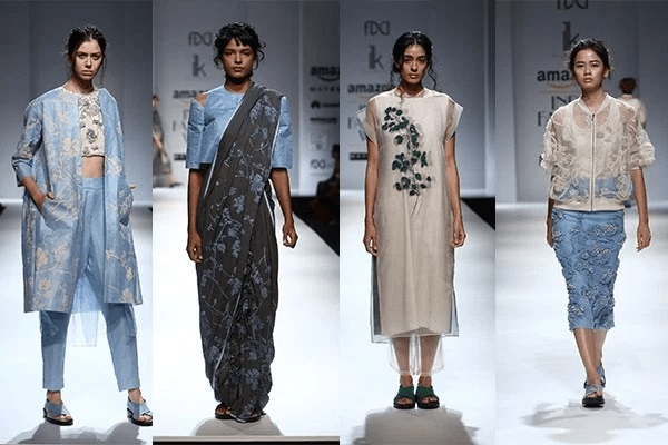 MAKE IT CLASSY WITH LIGHT COLORS Summer Trends From Amazon Indian Fashion Week