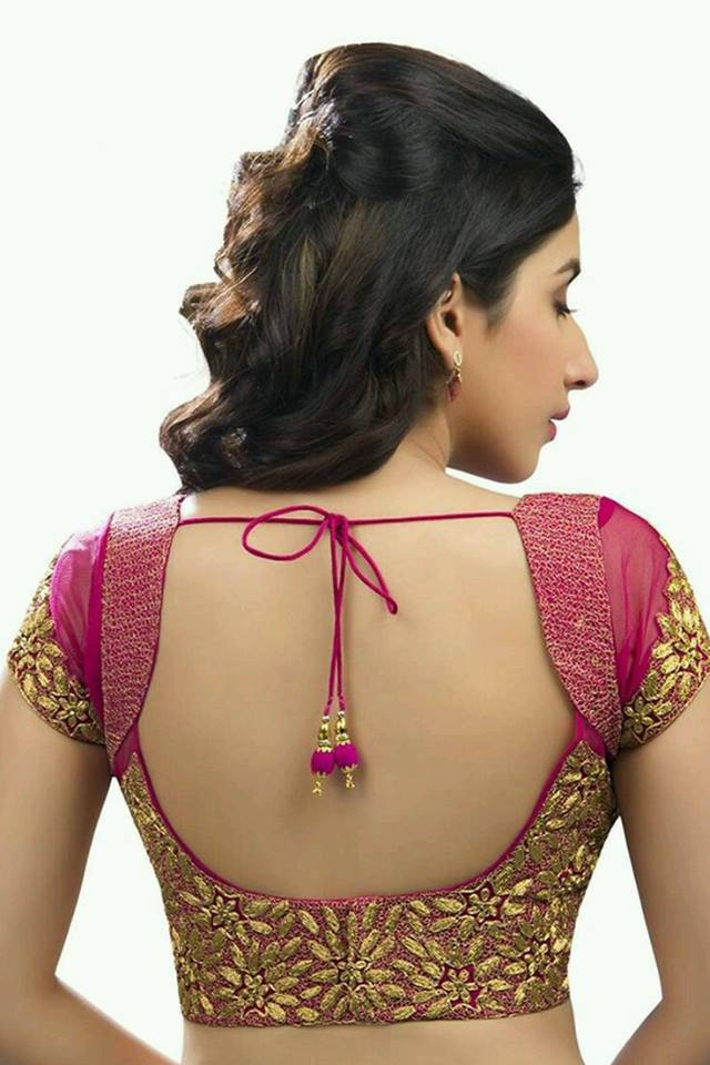 Embroidered blouse design: Best Types Of Blouse Designs Patterns For Every Woman