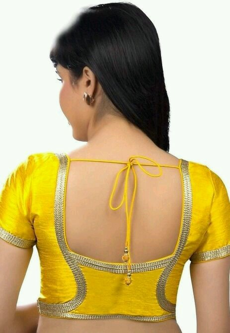 Yellow blouse design: Best Types Of Blouse Designs Patterns For Every Woman