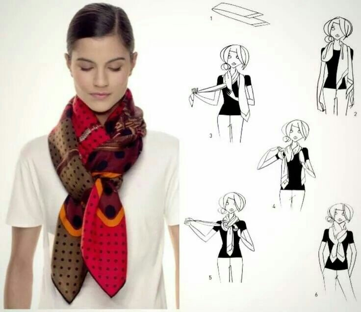 How To Style A Scarf This Summer (Step by Step)