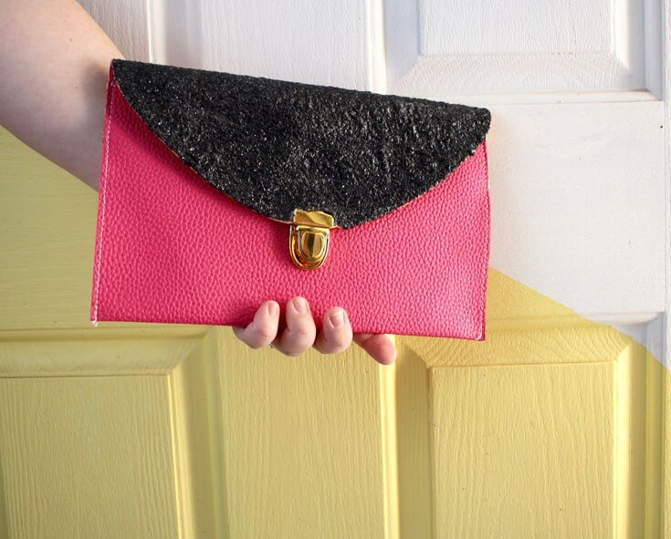 Glitter Clutch DIY Glitter Fashion Trends To Try This Season
