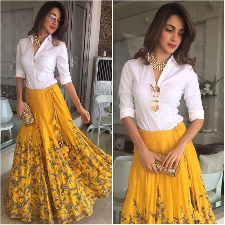 Layer It Up With White Shirt Trending Ways To Style Indian Jewellery With Western Outfits