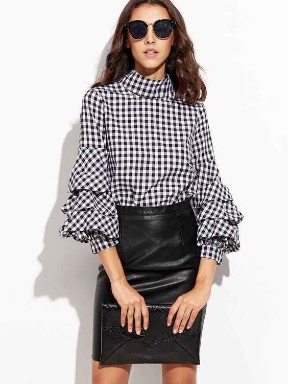 Tiered sleeves Trending Blouses with Stylish Sleeves For This Summer