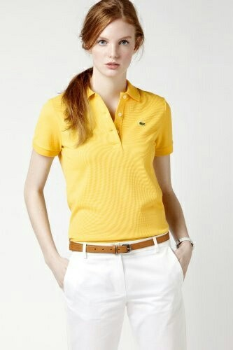 A Polo Tshirt With Trousers Office Wear Trends For Indian Women