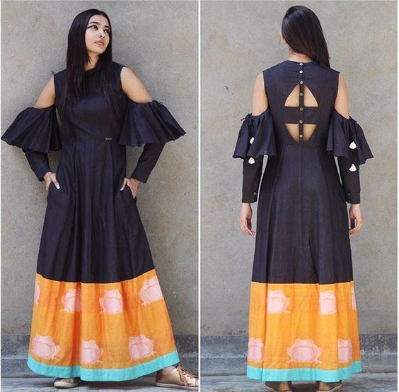 Trendy designer kurti style | New pattern kurtis