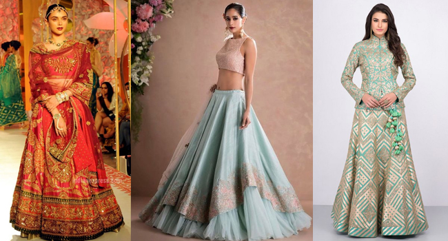 Stylish Lehenga Choli For Wedding