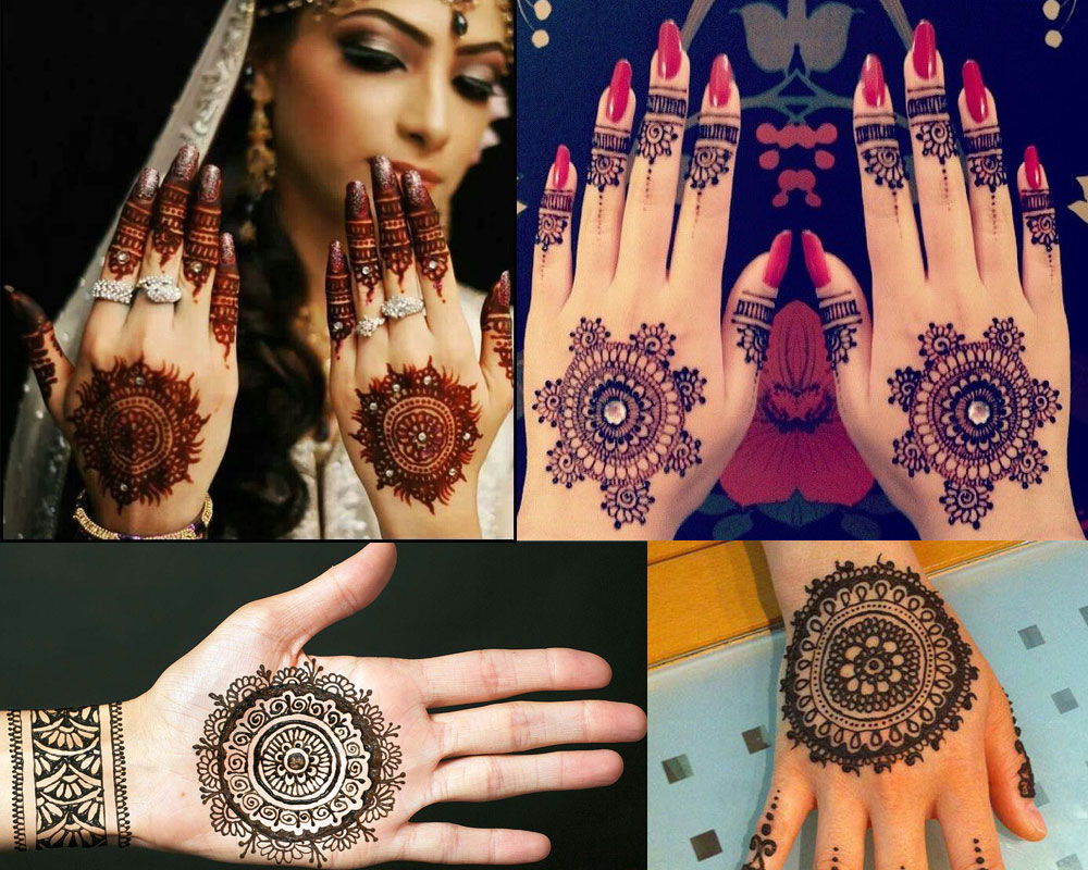 CIRCULAR MOTIF  MEHNDI DESIGN  Mehndi Designs For Your Special Look (Complete Package)