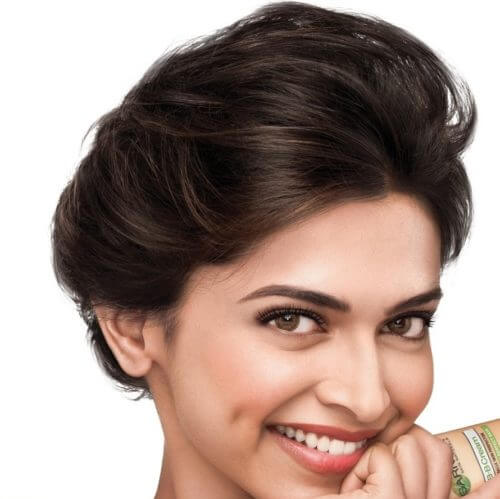 PUFF AND BUN bollywood Celebrity Hairstyles & Haircuts