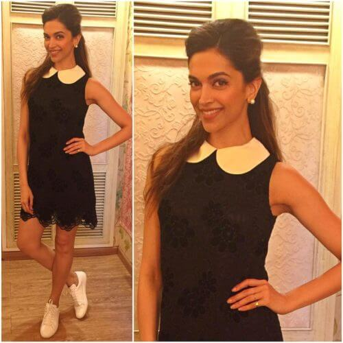 CASUAL CHIC GIRLY bollywood Celebrity deepika Hairstyles & Haircuts