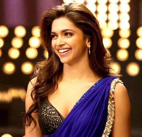Deepika-padukone-with-layered-curls-hairstyle-for-saree ...