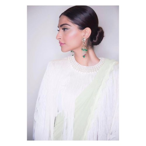 LOW TIGHT BUN HAIR Sonam Kapoor Hairstyles For Your Perfect Look