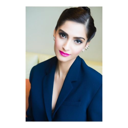 OFFICE HAIR BUN  Sonam Kapoor Hairstyles For Your Perfect Look