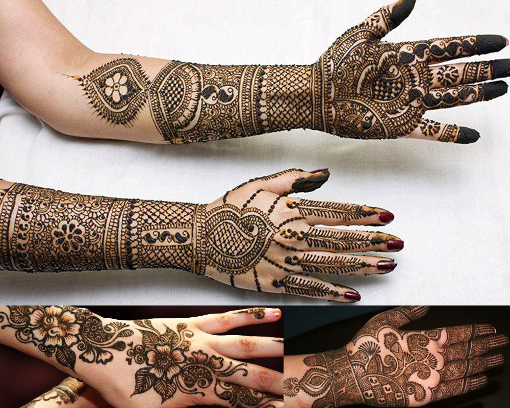 PUNJABI MEHNDI DESIGNS  Mehndi Designs For Your Special Look (Complete Package)