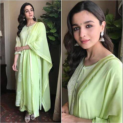 ETHNIC VIBES Sizzling Outfits of Hot Alia Bhatt : Best Summer Looks During Promotional Events!
