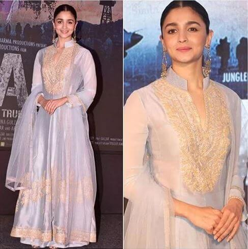 IN MANISH MALHOTRA  Sizzling Outfits of Hot Alia Bhatt : Best Summer Looks During Promotional Events!