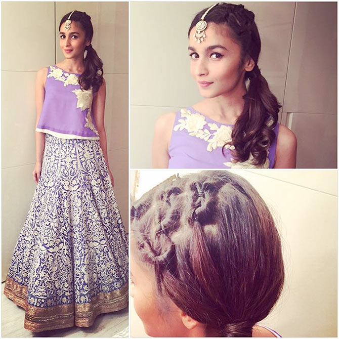 30 Super Attractive Hairstyles Of Alia Bhatt For Short Medium Long Hair K4 Fashion