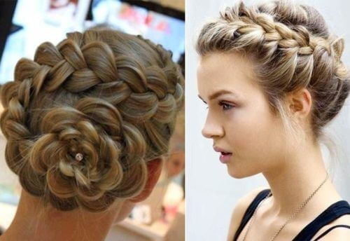 BRAIDED BUN Lovely & Easy Hair Bun Styles Long Hair Inspired From Celebrities