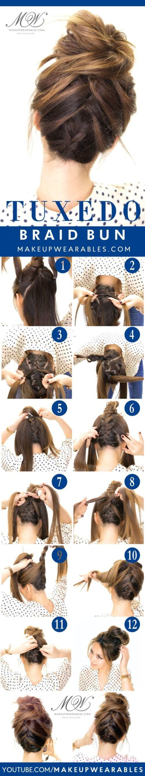 HIGH HAIR BUN STYLE Lovely & Easy Hair Bun Styles Long Hair Inspired From Celebrities
