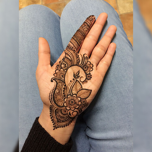 PAISLEY DESIGN  Mehndi Designs For Your Special Look (Complete Package)