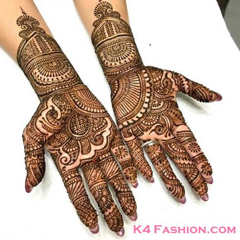 SOUTH INDIAN STYLE  Mehndi Designs For Your Special Look (Complete Package)