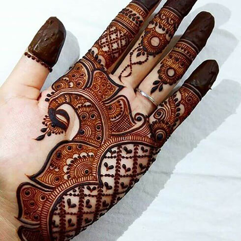 PEACOCK DESIGN  Mehndi Designs For Your Special Look (Complete Package)