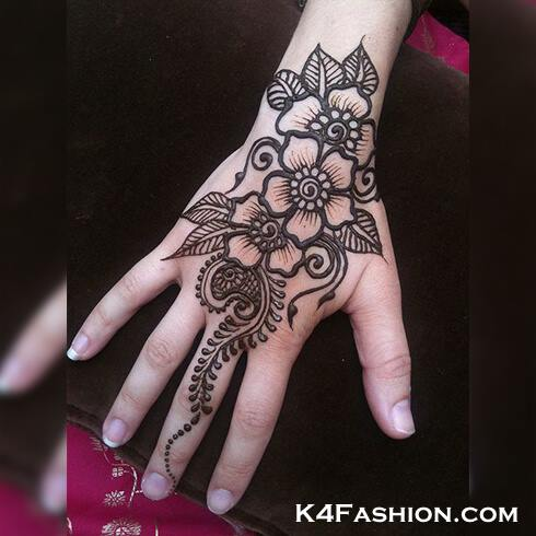 FLORAL DESIGNS  Mehndi Designs For Your Special Look (Complete Package)
