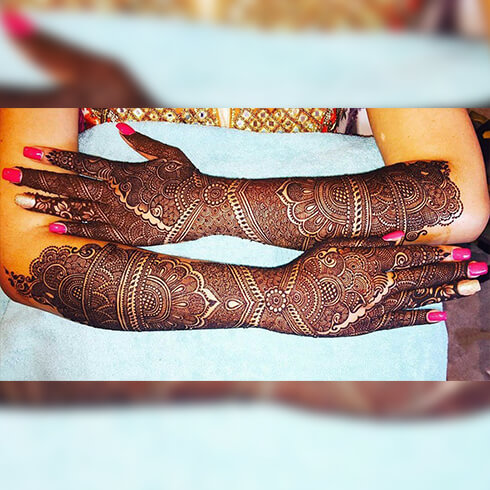 FULL HAND DESIGNS  Mehndi Designs For Your Special Look (Complete Package)