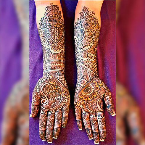 RAJASTHANI DESIGNS  Mehndi Designs For Your Special Look (Complete Package)